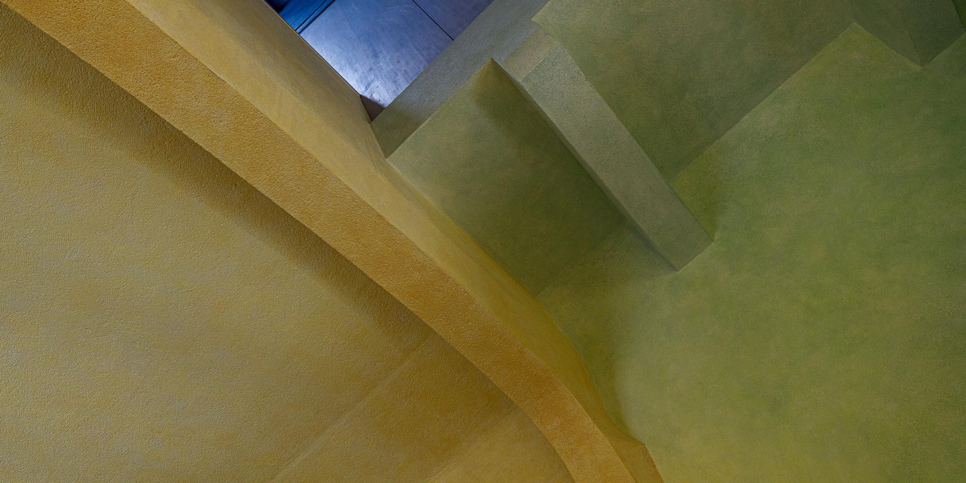 im Treppenhaus des Goetheanum in Dornach 3
