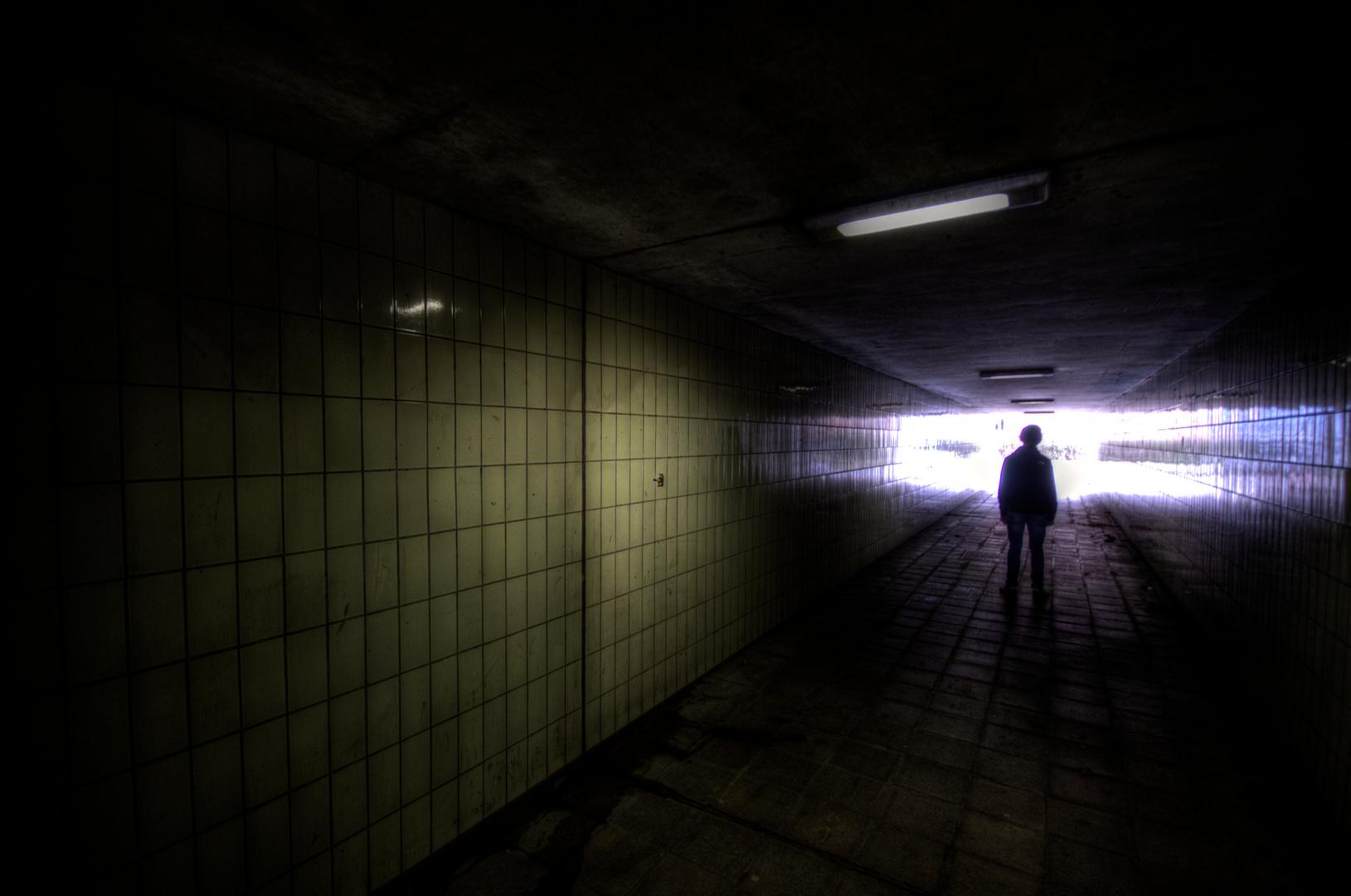 Im Tunnel....