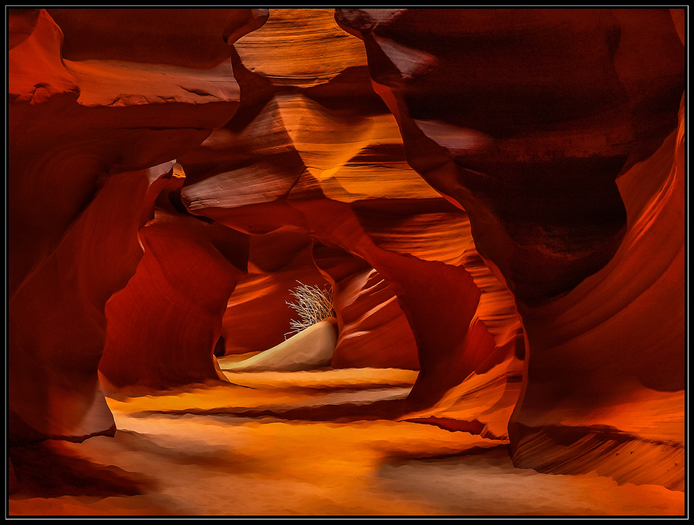 Im Upper Antelope Canyon