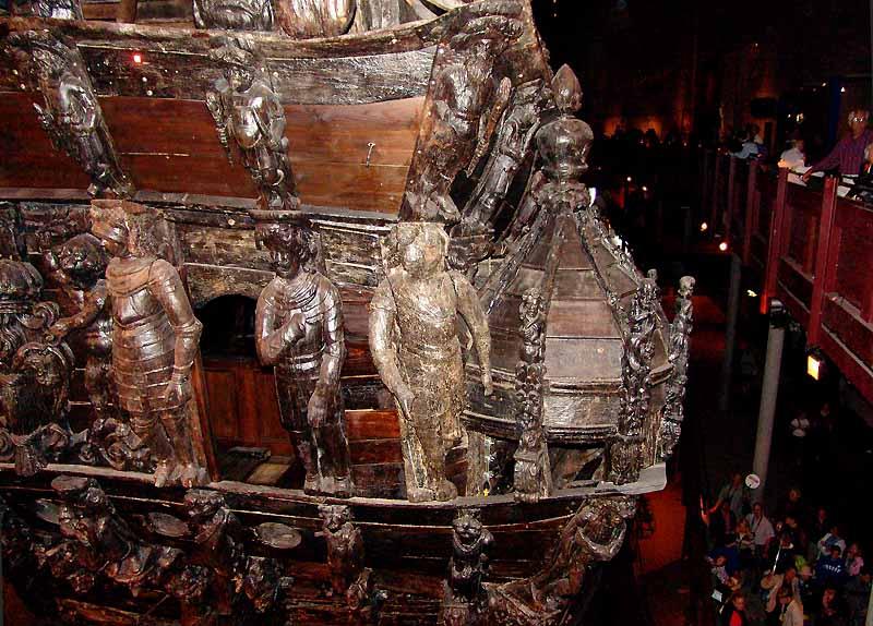 """Im """"Vasa"""" - Museum in Stockholm"""