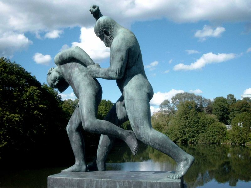 Im Viggelandpark Oslo