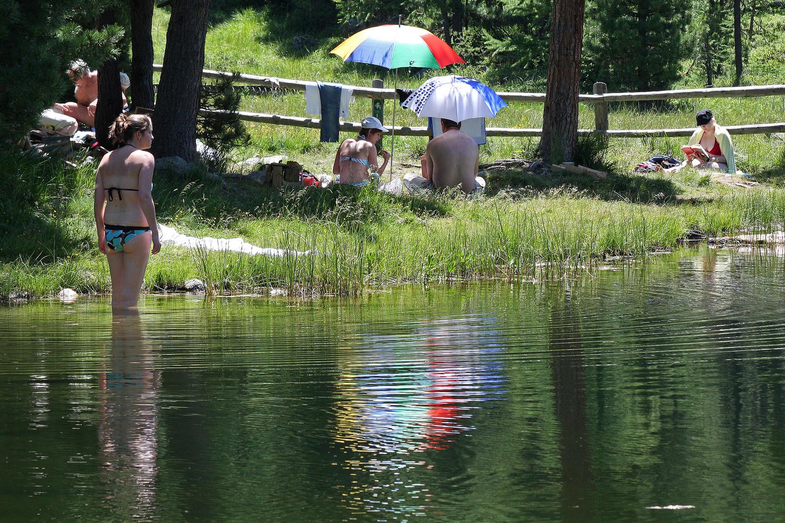 Im Visier *Am Wasser* Foto & Bild   schweiz, menschen