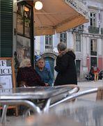 "Im Visier: ""heimlich"" - Lisboa - Quiosque Sao Roque"