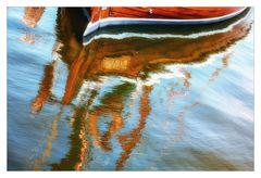 Im Visier * Reflexionen auf dem Wasser *