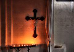 Im Warmen bei Kerzenschein abhängen