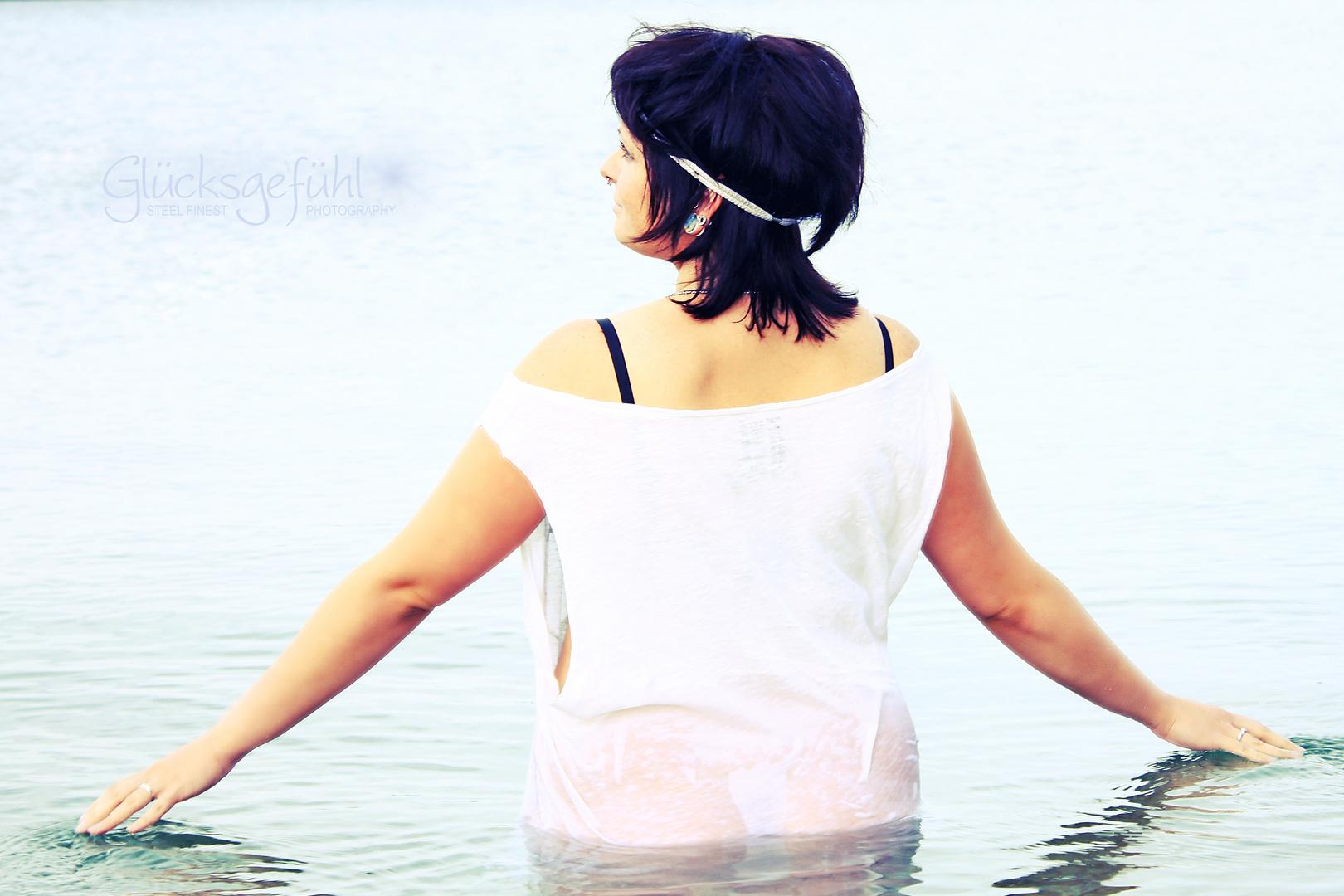 Im Wasser...