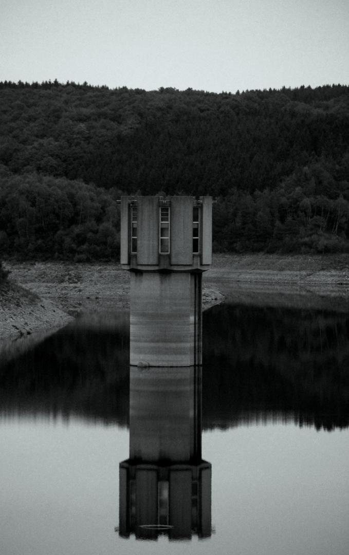 ..im Wasser stehen gelassen