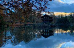 Im Wildpark Anholter Schweiz