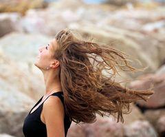 im Wind...