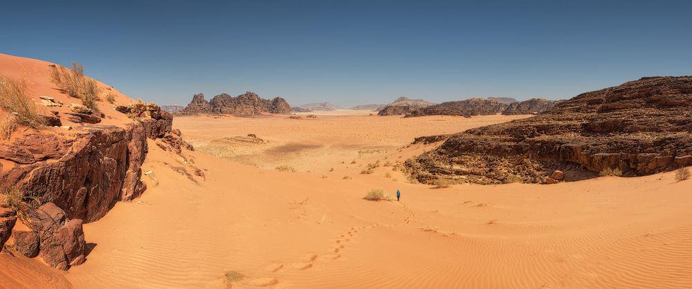 Im Wüstenreich des Lawrence von Arabien auf der Suche nach Mark Watney