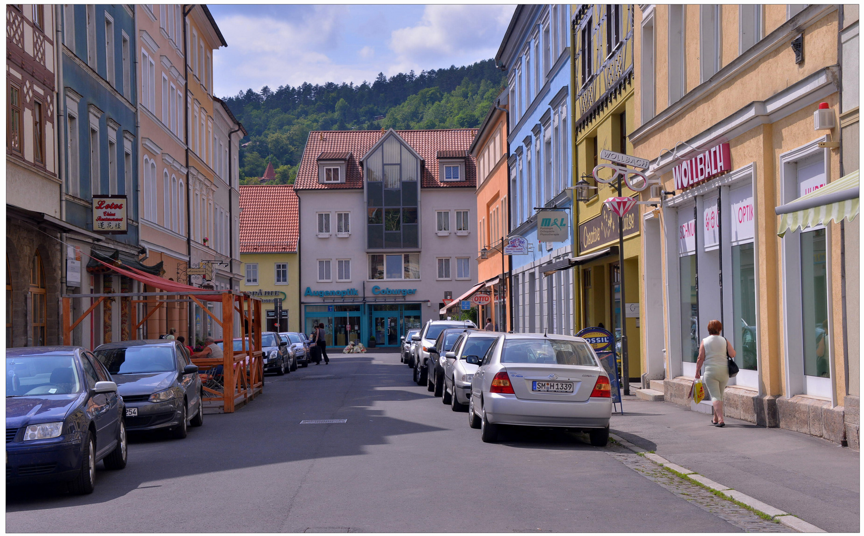imagen de mi nueva cámara XIII - la calle preferida mía a causa de las casas bonitas