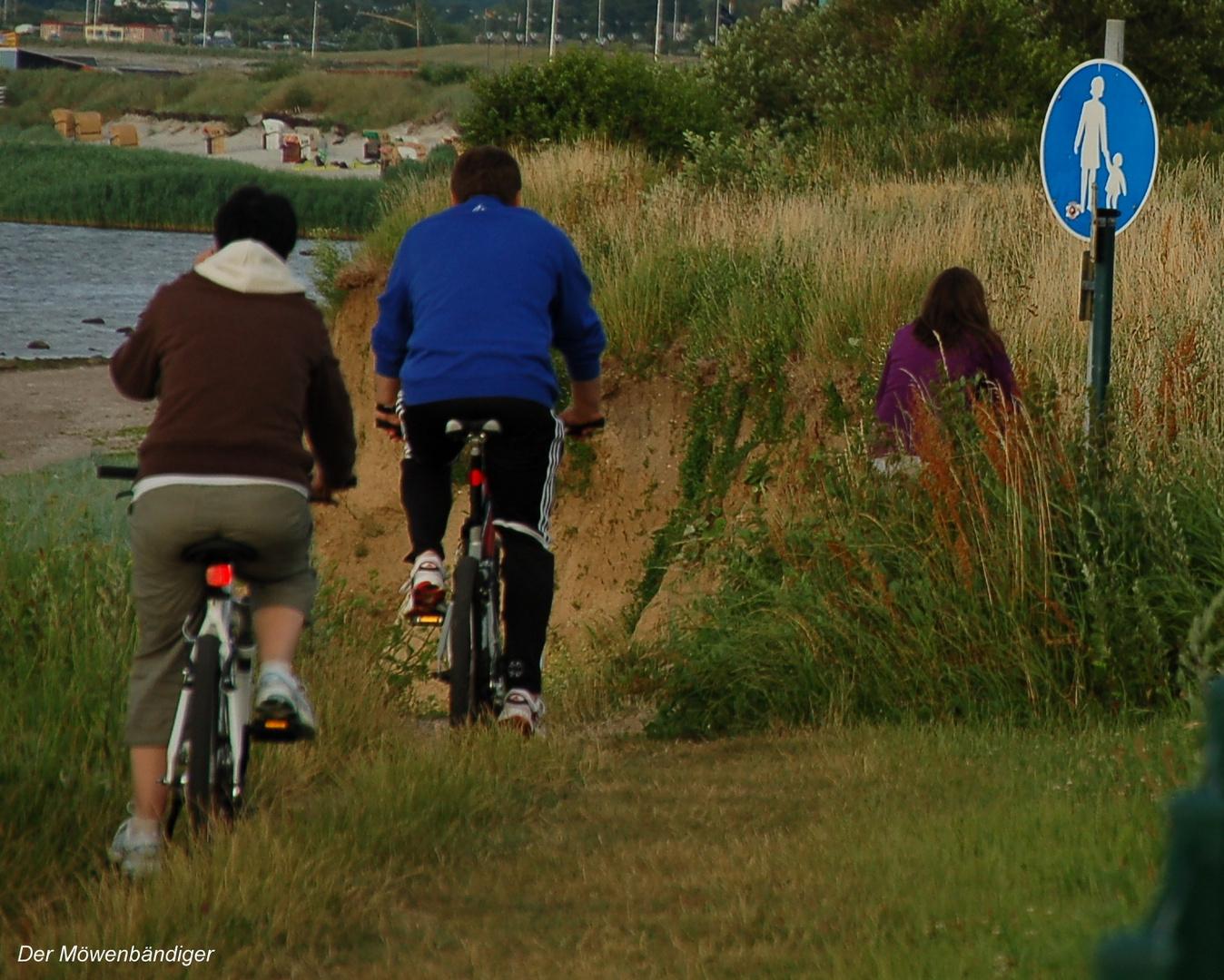 Immer diese Radfahrer