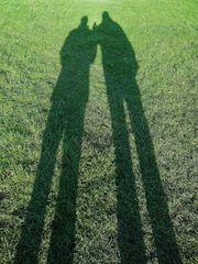 ... immer früher - gigantische Schatten !