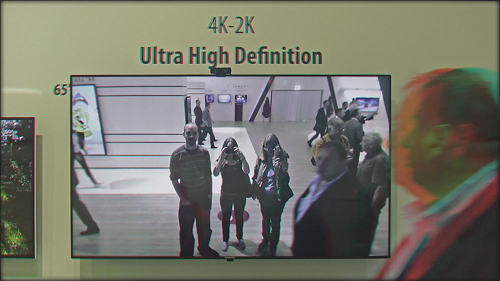 immer latscht einer ins Bild (3D)