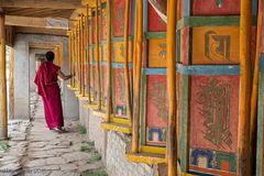 Immer und überall Gebetsmühlen