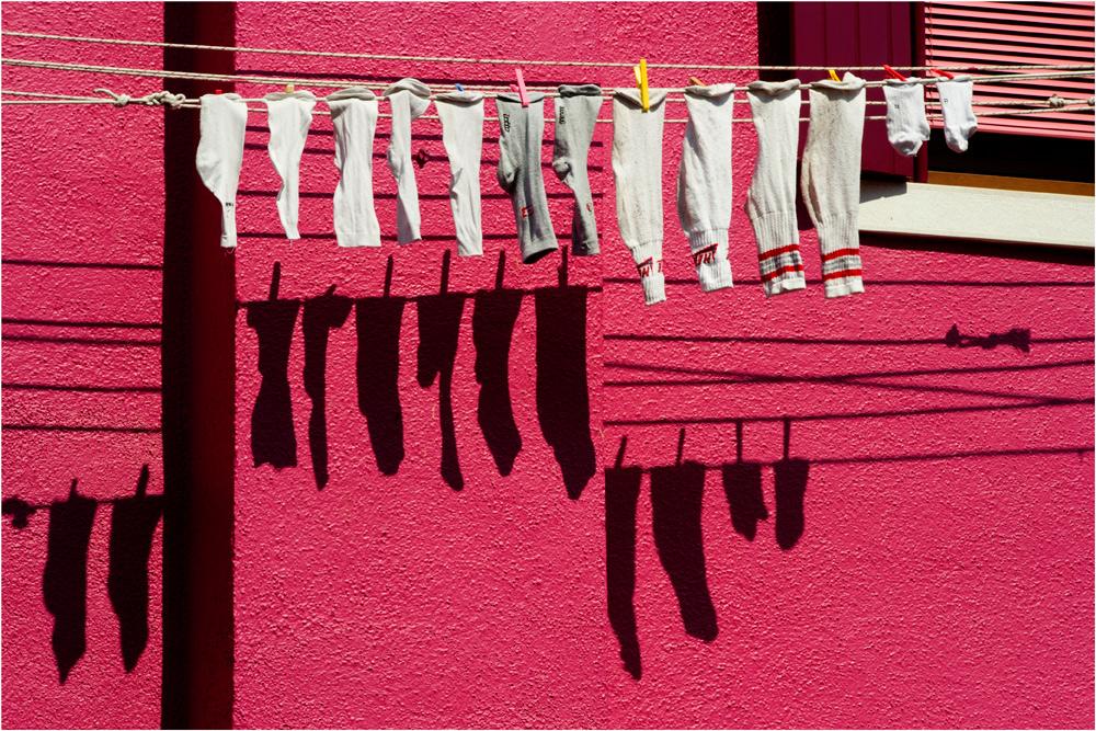immer wieder Wäsche...