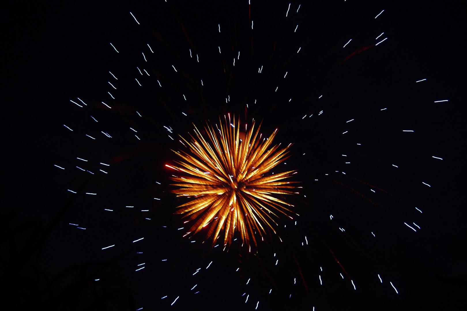 immerwährendes Feuerwerk