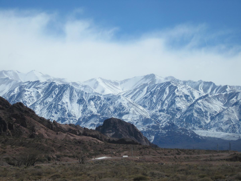 Imponente Cordillera de Los Andes