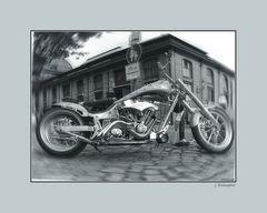 - imposante Harley -