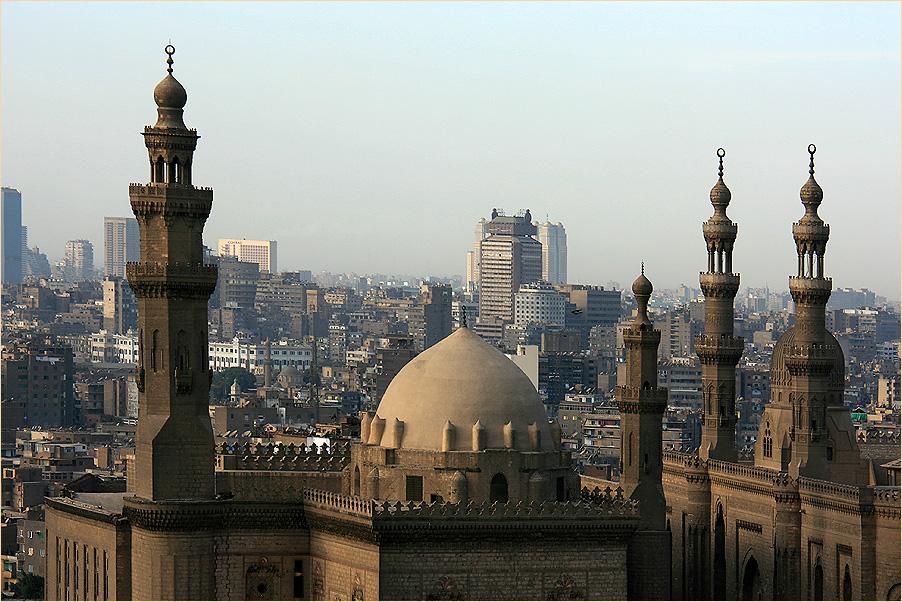 Imposante Minarette......