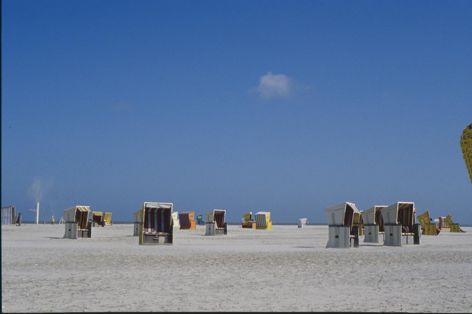 Impression am Strand von Norderney