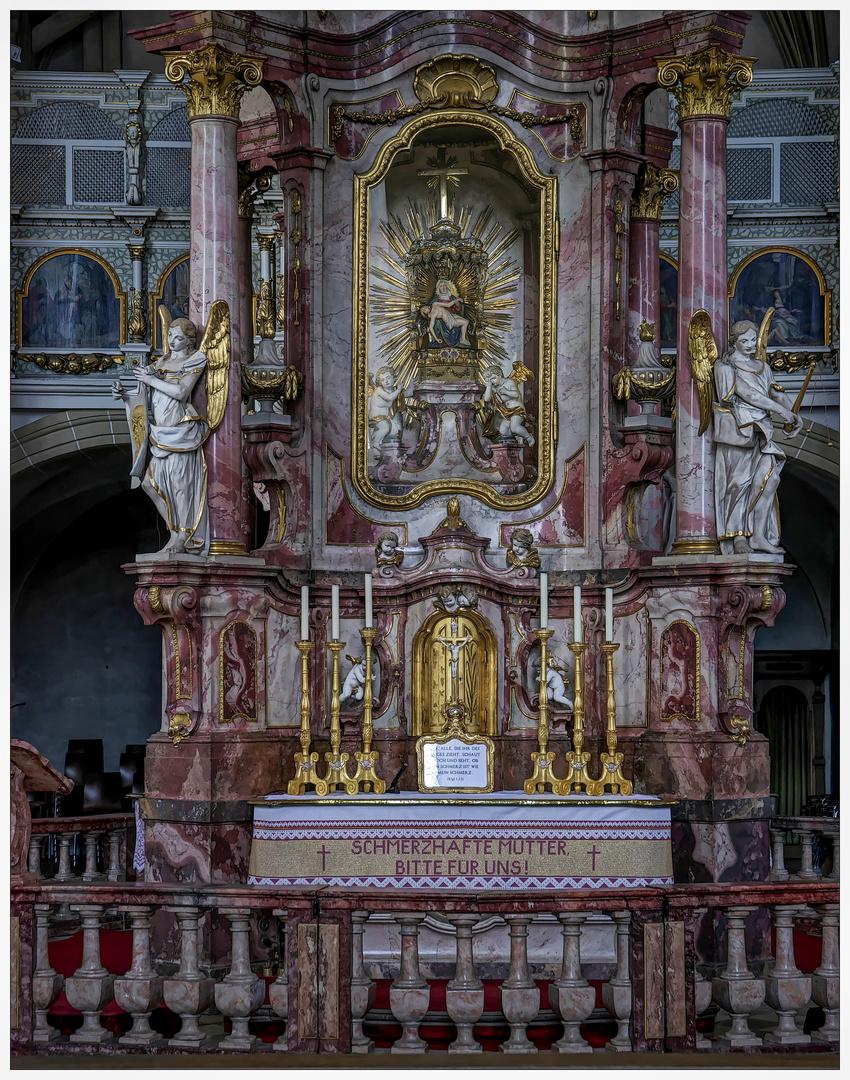 *** Impression aus der Wallfahrtskirche Maria im Sand in Dettelbach ***
