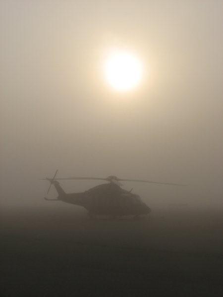 Impression im Nebel