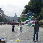 Impressionen am Wentzelsplatz in Prag