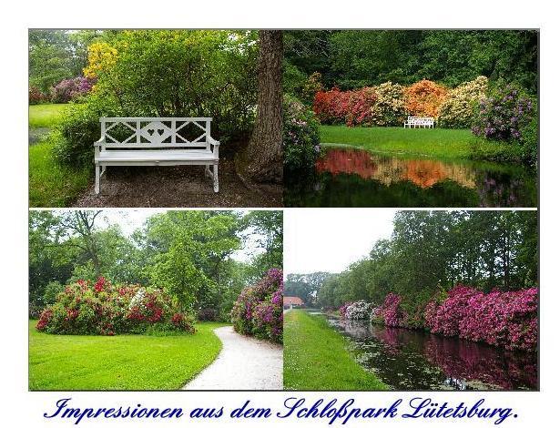 Impressionen aus dem Schloßpark Lütetsburg