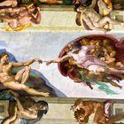 Impressionen aus dem Vatikanmuseum und der Sixtinischen Kapelle 2: Adam und Gott