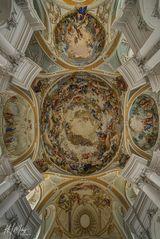 *** Impressionen aus der Abteikirche  St. Ulrich und Afra-in Neresheim ***