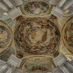 *** Impressionen aus der Abteikirche  St. Ulrich und Afra in Neresheim ***