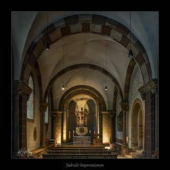 *** Impressionen aus der Afra Kapelle im Kaiserdom zu Speyer ***