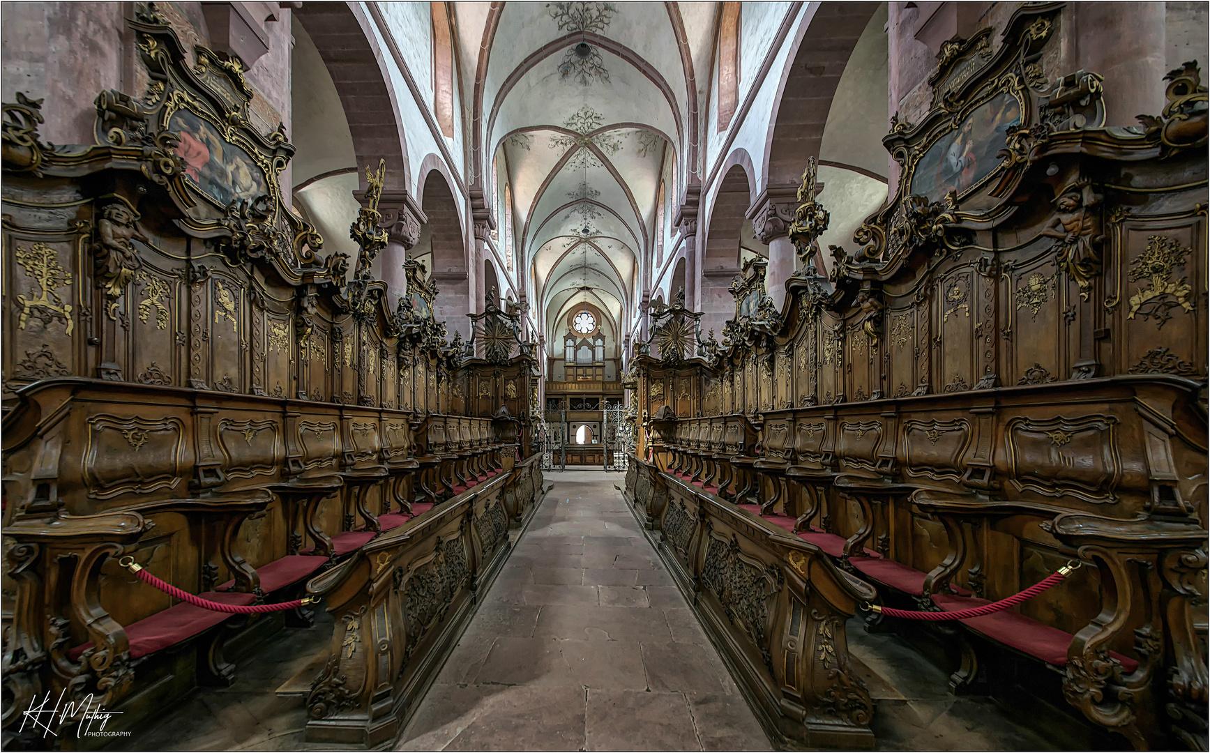 *** Impressionen aus der Klosterkirche  Bronnbach in Wertheim ***