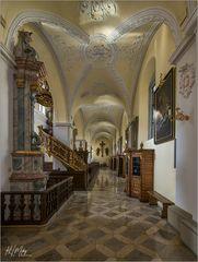 *** Impressionen aus der Klosterkirche Heilig-Kreuz in Gerlachsheim ***