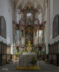 *** Impressionen aus der Pfarrkirche  St. Bartholomäus und St. Georg in Volkach ***