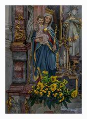 *** Impressionen aus der Pfarrkirche St. Johannes Baptist und Johannes Evangelistin  Edelstetten ***