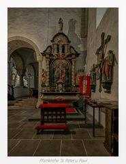 *** Impressionen aus der Pfarrkirche St. Peter und Paul in Gehrden ***