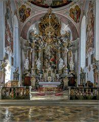 *** Impressionen aus der Pfarrkirche St. Peter und Paul in Oberammergau ***
