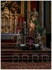 *** Impressionen aus der Stiftspfarrkirche St. Philippus und Jakobus in  Altötting ***