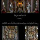 *** Impressionen aus der Wallfahrtskirche Mariä Heimsuchung in Aschaffenburg ***
