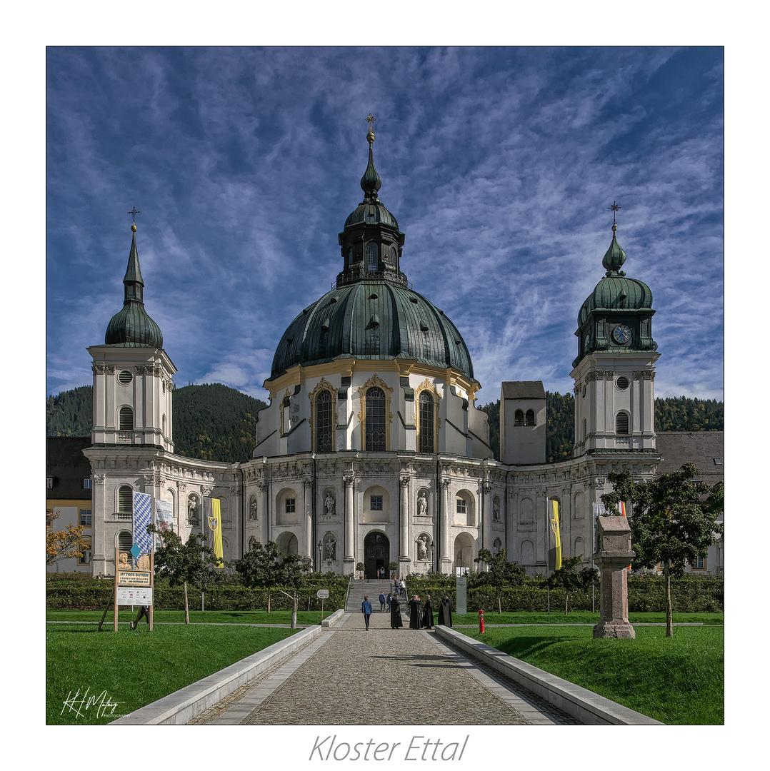 *** Impressionen aus  die barocke Benediktinerabtei in Ettal ***
