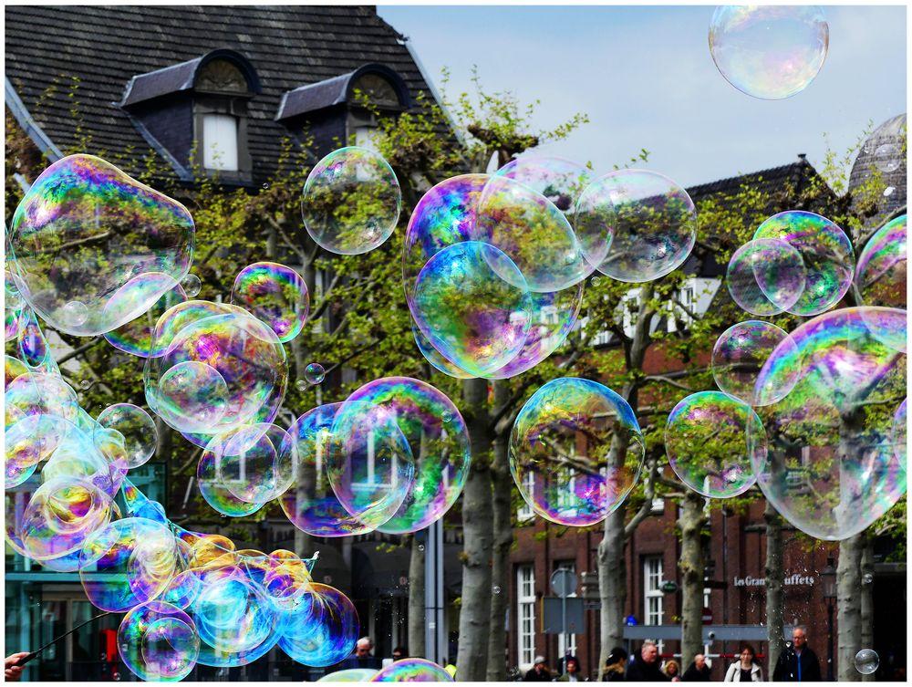 Impressionen aus Maastricht vom Vrijhof
