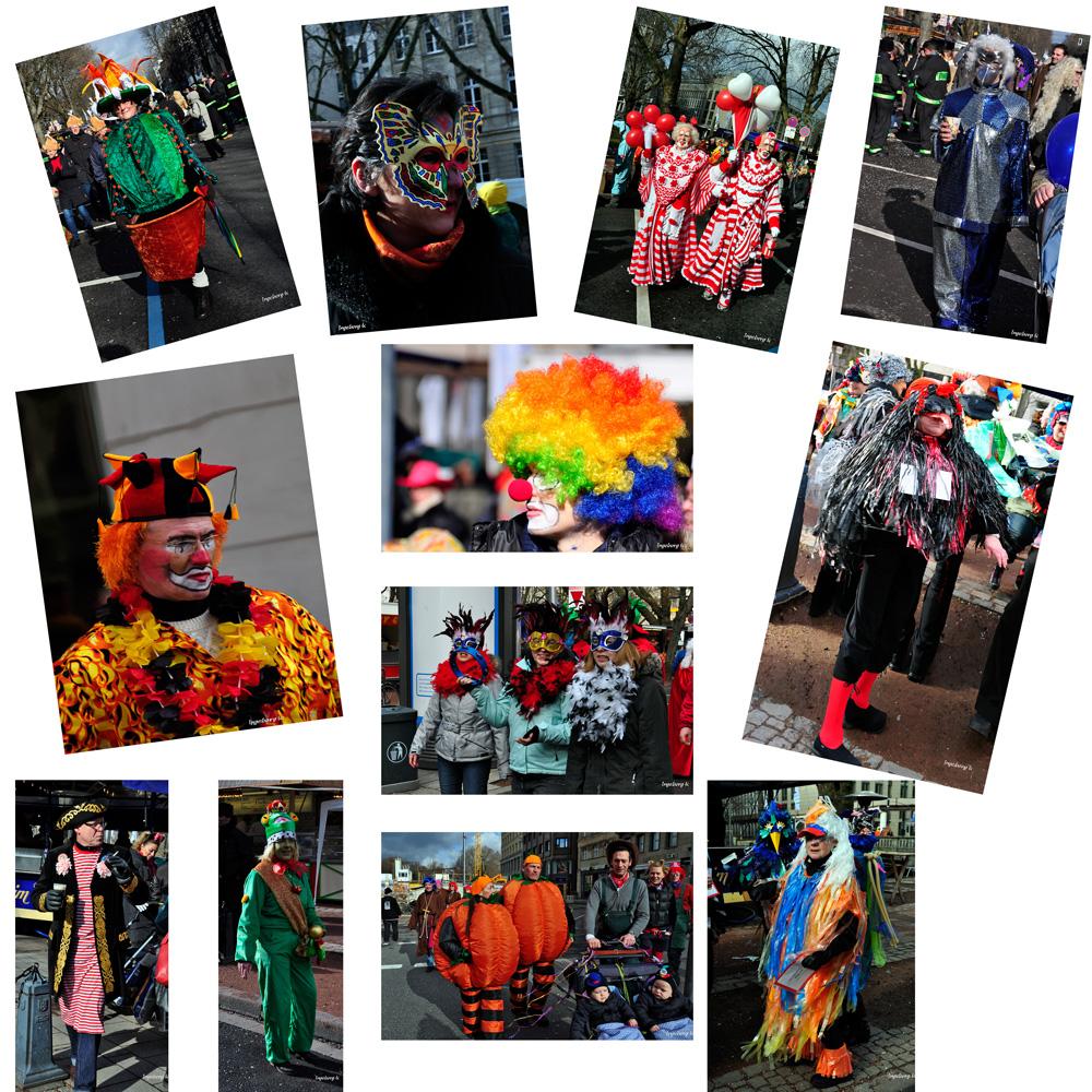 Impressionen - Karneval auf der Kö in Düsseldorf (1)