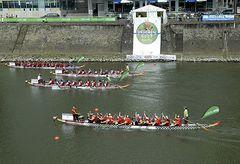 Impressionen vom Drachenbootrennen in Düsseldorf am 16.06.2007