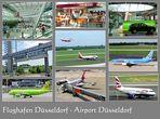 Impressionen vom Flughafen in Düsseldorf