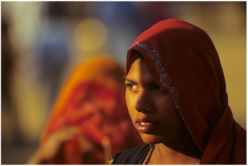 Impressionen vom Kamelmarkt in Pushkar, Rajasthan, Nordindien, Bild 04
