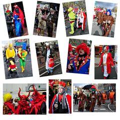 Impressionen vom Karnevalssonntag in Düsseldorf 2012 - (2)