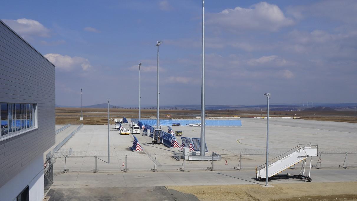 Impressionen vom neuen Flughafen Kassel - Calden 2