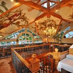 Impressionen vom Restaurant der Seebrücke - Blick in den Kaisersaal im Obergeschoss-